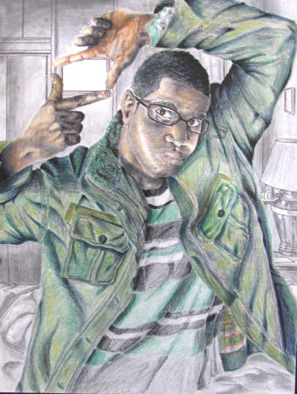 Advanced: choice self project (colored pencil)