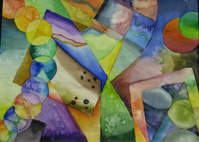 Intermediate: learning color mixing and control of watercolor (#2)