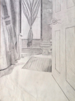 Intermediate: apply learning to at-home perspective drawing from life (# 1)