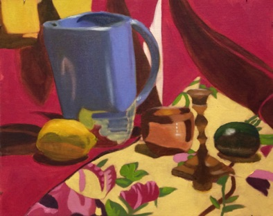 Intermediate:  building on color theory in oil: Tonal Underpainting / glazing (#1)